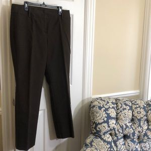 Dana Buchman brown trousers-16